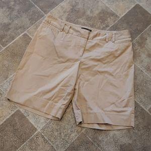 Lane Bryant women's size 18 khaki Bermuda shorts